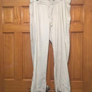 Torrid Linen Blend Lounge Pants